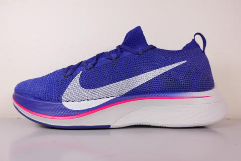 d99a972832e5 In domestic black tag NIKE ZOOM VAPORFLY 4% FLYKNIT AJ3857-400 blue vapor  fly ball fly knit 28cm sneakers   running marathon