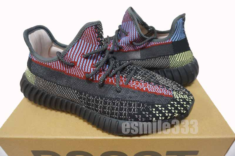 Country regular article with YEEZY BOOST 350 V2 YECHEIL RF reflective リフレクティブイージー US927cm Adidas yeezy easy boost tag