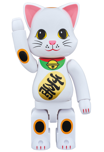 MEDICOM TOY スカイツリーソラマチ店限定 NY@RBRICK 400%/ニャーブリック 招き猫【4530956540825】