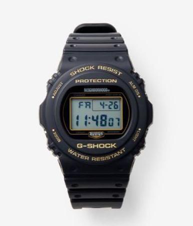 【新古品・未使用品】2019 NEIGHBORHOOD GSHOK コラボレーションモデル DW5750 初期 ラウンド型モデル CASIO カシオ  ジーショック 腕時計 ネイバーフッド Gショック G-SHOCK【中古】