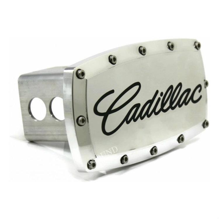 【Cadillac】キャデラック クロームヒッチカバー [エスカレード] ヒッチメンバーに[カスタム パーツ]