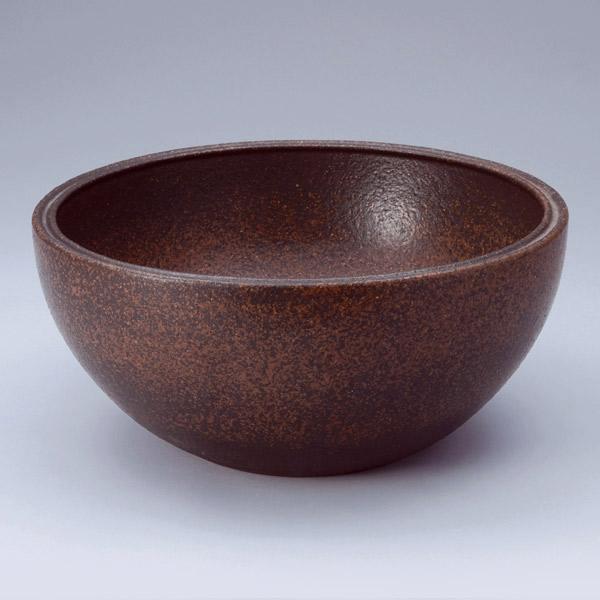 洗面 洗面ボール 洗面ボウル 手洗い鉢 洗面台 陶器 洗面 ボール ボウル コゲ窯肌 置き型直径300ミリ