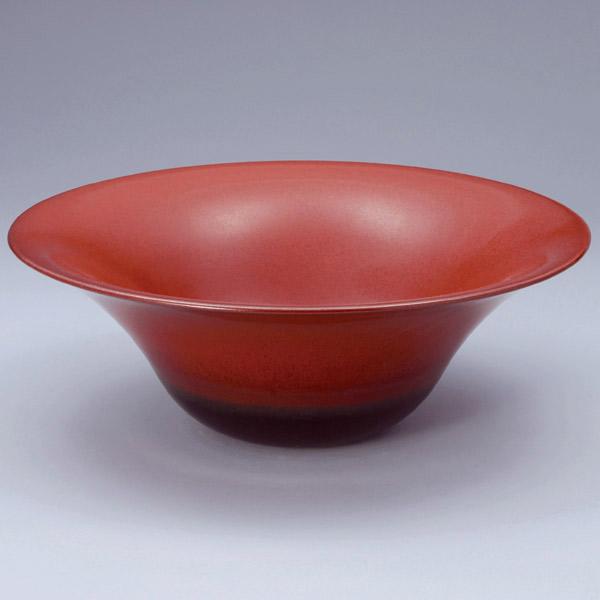 洗面 洗面ボール 洗面ボウル 手洗い鉢 洗面台 陶器 洗面 ボール ボウル 鉄赤 置き型直径330ミリ