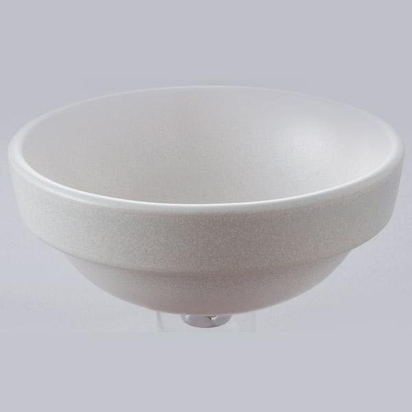 洗面 洗面ボール 洗面ボウル 手洗い鉢 洗面台 陶器 洗面 ボール ボウル チタンマット 半埋型直径270ミリ