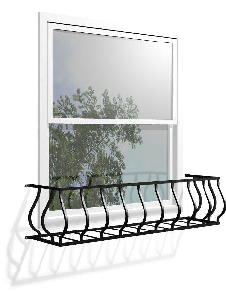 フラワーボックス 壁飾り フラワーボックス ジャーマン・ウェーブ 壁飾り 窓手すり アルミ鋳物 エクステリア 防犯