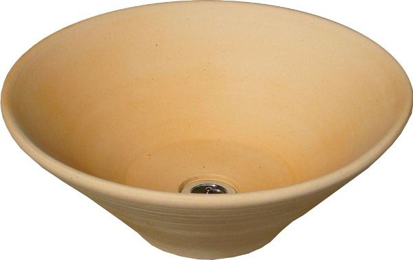 立水栓 パン ガーデンパン 陶器ハニワ 立水栓 水栓柱に設置 和風 水鉢