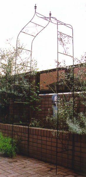 ロートアイアン ガーデンアーチA型 バラ アーチ ガーデンファニチャー 園芸用品 ローズガーデン