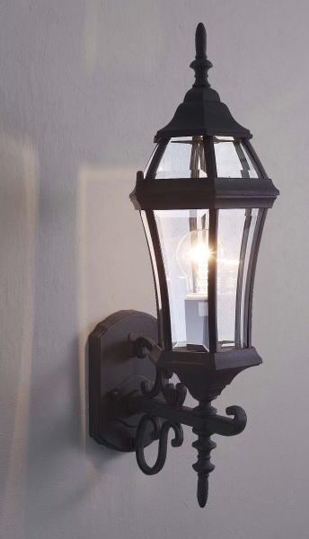 玄関照明 玄関 照明 LED 門柱灯 門灯 外灯 屋外 9790bkld アンティーク風 レトロ ブラケット 照明器具 おしゃれ E26 LED電球