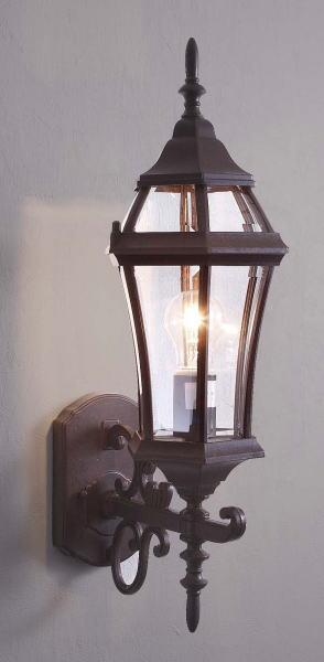 玄関照明 玄関 照明 LED 門柱灯 門灯 外灯 屋外 9790tzld アンティーク風 レトロ ブラケット 照明器具 おしゃれ E26 LED電球