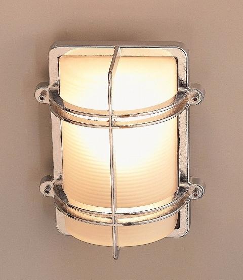 玄関照明 照明 LED 玄関 照明 屋外 門柱灯 門灯 外灯 ポーチライト 屋外 マリンライト BH2373 CR FR LE くもりガラス 真鍮 照明 ブラケット 照明器具 おしゃれ E26 LED電球 12W