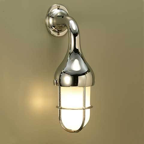 【300円OFFクーポン配布中】 室内 LED 照明 マリンライト br2075cr くもりガラス インテリア 照明 壁付 ブラケット 照明 真鍮 照明器具 おしゃれ