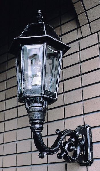 玄関照明 玄関 照明 屋外 門柱灯 門灯 外灯 ポーチライト ポーチ灯 ナポリ W-1 (66010) アンティーク風 レトロ 照明 ブラケット 照明器具 おしゃれ