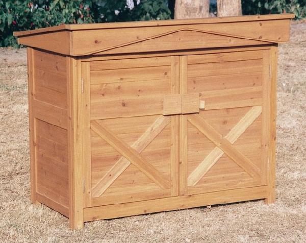 物置 屋外 おしゃれ 木製物置 ガーデンストア1308 天然木材 収納庫 屋外収納庫 物置小屋 ガーデニンググッズ 収納 ガーデンファニチャー