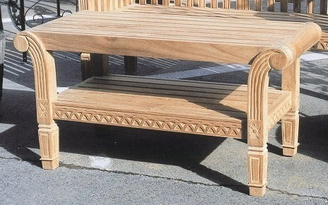 Surprising Garden Table Cafe Table High Quality Teakwood Wooden Garden Furniture Ground Table Width Approximately 1 100 Height 550 Depth 500 Tree Teak Garden Ocoug Best Dining Table And Chair Ideas Images Ocougorg