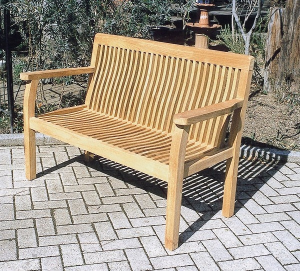 I Hang Two Teak Garden Furniture Garden Furniture Finished Product Outdoors With Bench Garden Bench High Quality Teakwood Wooden Public Bench Width