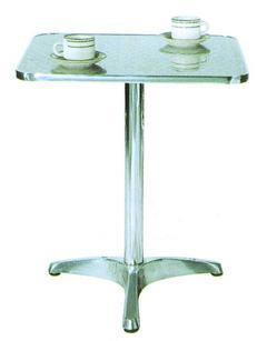 ガーデンテーブル カフェテーブル アルミテーブル 組立式 屋外用 ガーデンファニチャー テーブル 庭 ベランダ テラス おしゃれ ガーデンテーブル カフェテーブル アルミテーブル角 YTS2-60 組立式 屋外用 ガーデンファニチャー テーブル 庭 ベランダ テラス おしゃれ