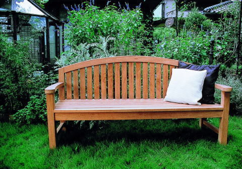 Auc Estoah Bench Wooden Outdoor Stylish Garden Chair Garden Bench