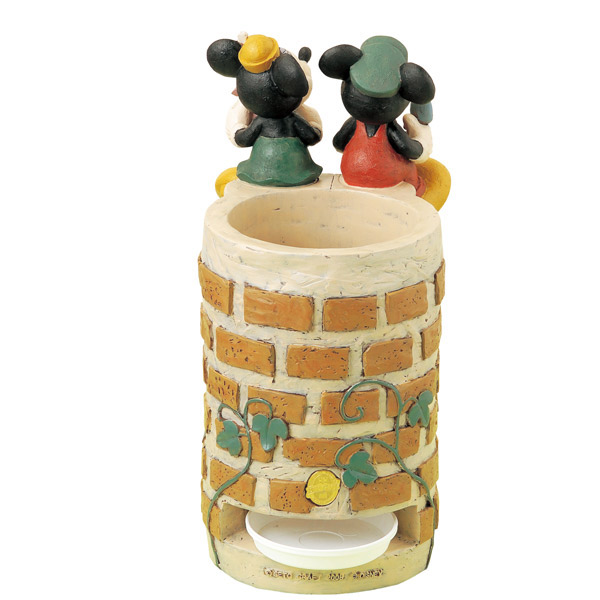 Umbrella stand umbrella stand Disney Mickey Mouse and Minnie mouse with saucer gardenning gadgets