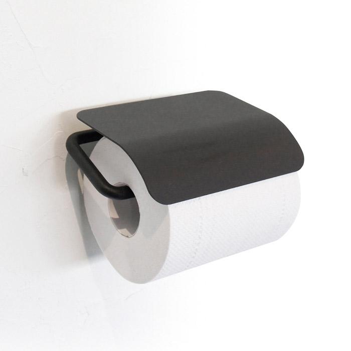 トイレットペーパーホルダー ヨークペーパーホルダーA ブラック アイアン ナチュラル モダン おしゃれ 壁 洗面 トイレ