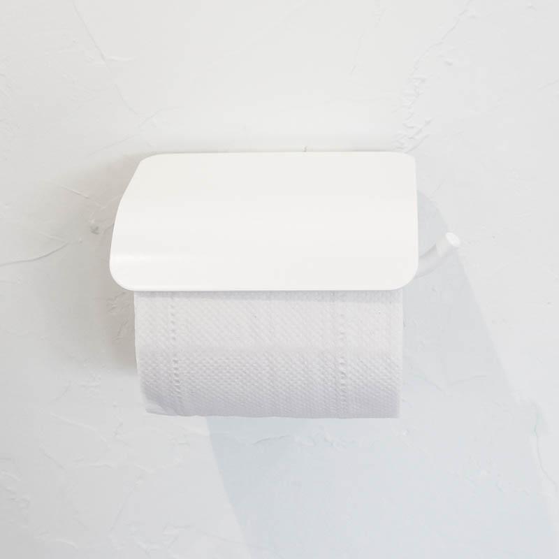 【300円OFFクーポン配布中】 トイレットペーパーホルダー ヨークペーパーホルダーA ホワイト アイアン ナチュラル モダン おしゃれ 壁 洗面 トイレ