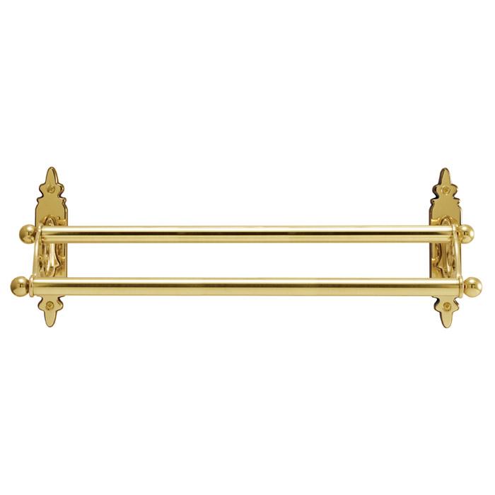 タオルハンガー タオル掛け サニタリーアイテム CLシリーズ ダブルタオルバー 36 CL 真鍮製 真鍮ゴールド おしゃれ 壁 洗面 トイレ キッチン