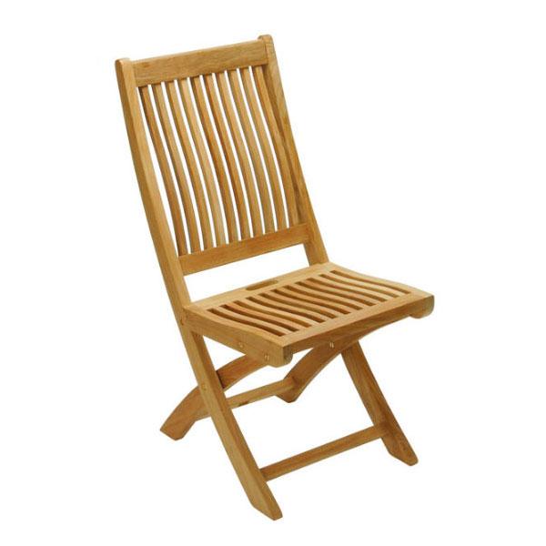 ガーデンチェア 高級 チーク材 天然木 折りたたみ イスタナ フォールディング チェア 幅43×奥行64×高さ90cm 完成品 椅子 庭 ガーデン 家具 ベランダ テラス ガーデンファニチャー チーク おしゃれ 送料無料