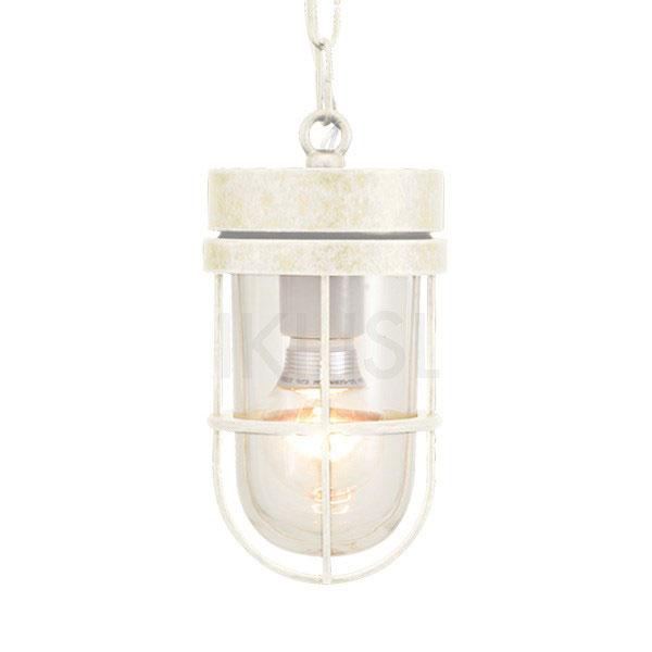 【ポイント最大23倍 ~5/30 23:59まで】 屋外照明 玄関 照明 軒下 外灯 屋外対応 LED マリンランプ ペンダントライトP6000 WAB CL LE 古白色 ガーデンライト真鍮製 照明器具