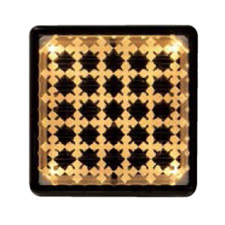 屋外照明 ソーラーライト 埋込 照明 駐車場 ライト 外灯 エスコートG アンバー 誘導灯 照明器具 おしゃれ
