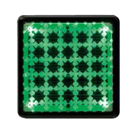 屋外照明 ソーラーライト 埋込 照明 駐車場 ライト 外灯 エスコートG グリーン 誘導灯 照明器具 おしゃれ