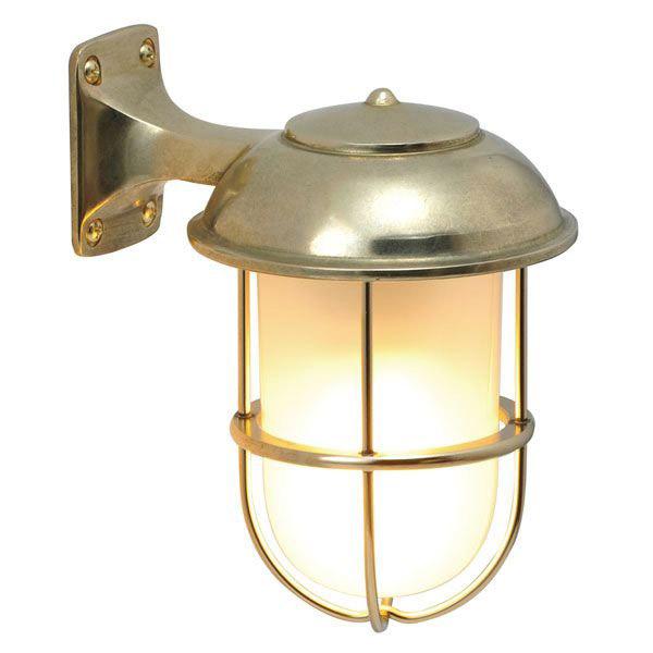 玄関照明 照明 LED 玄関 照明 屋外 門柱灯 門灯 外灯 ポーチライト 屋外 照明 マリンライト BR5000 FR LE くもりガラス レトロ 照明 ブラケット 照明器具 おしゃれ E26 電球型LED 5W