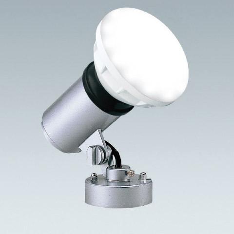 屋外 照明 LED スポットライト 160W形 E26器具相当 3000k 電球色 防雨型 (本体+LEDランプ) 照明器具 sh0738-end