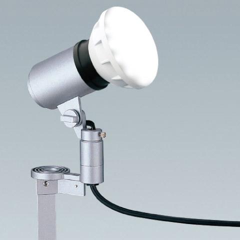 屋外 照明 LED スポットライト 160W形 E26器具相当 3000k 電球色 防雨型 (本体+LEDランプ) 照明器具 sh0740-end