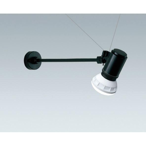 屋外 照明 LED スポットライト 160W形 E26器具相当 3000k 電球色 防雨型 (本体+LEDランプ) 照明器具 sh0748-end