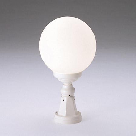 玄関 照明 門柱灯 門灯 LEDランプ付 白熱球40W形相当 防雨型 直径250×高さ450mm 照明器具 sh0769-end