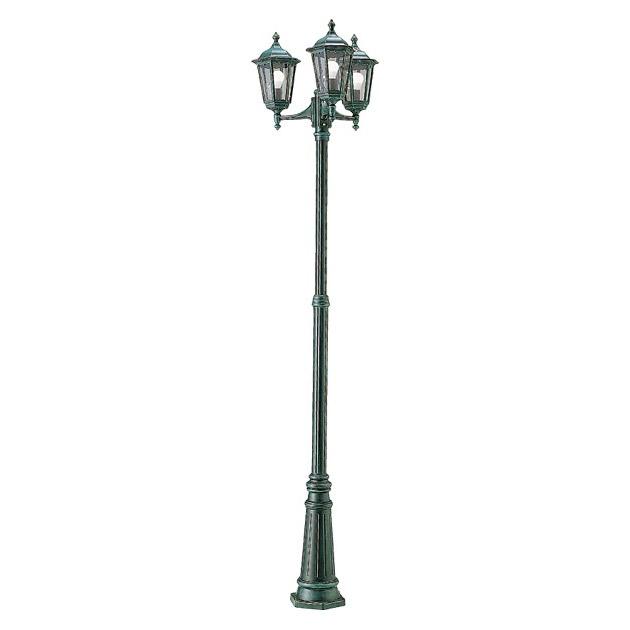 【最大3000円offクーポン配布中】 ガーデンライト ポール灯 庭園灯 LEDランプ付 3灯タイプ 白熱球40W形相当 防雨型 直径642×高さ2605mm 照明器具