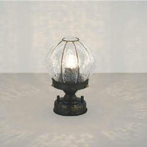 玄関 照明 門柱灯 門灯 LED一体型 白熱球60W相当 防雨型 高さ224×直径148 おしゃれ 照明器具