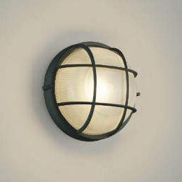 玄関 照明 ポーチ灯 ポーチライト LED一体型 白熱球60W相当 防雨型 高さ235×幅253 黒色 照明器具