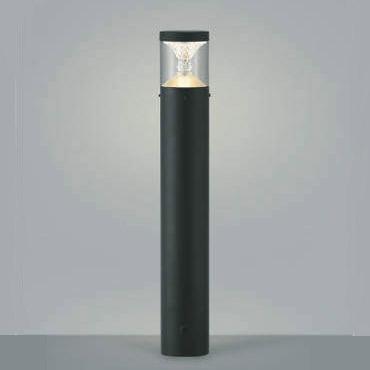 ガーデンライト ポール灯 庭園灯 LED一体型 白熱球60W相当 防雨型 地上高650 黒色 照明器具