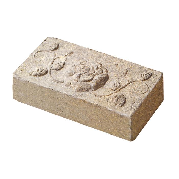 アンティークなレンガ ブロックでお庭や花壇をDIY 外構 外壁 アプローチにおすすめです レンガ 煉瓦 ブロック 敷き 品質検査済 敷石 アンティークブリックス アートレリーフ 並形 diy 花壇 ローズ おしゃれ ミドルベージュ 石材 5%OFF ガーデニング 庭 単品 エクステリア