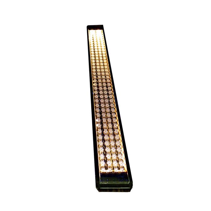 【通販激安】 アプローチ エントランスに優しい灯り。diy:エストアガーデン 屋外 LED アンバー ソーラーライト 玄関 ソーラーライン 埋め込み 誘導灯 電気工事不要-エクステリア・ガーデンファニチャー