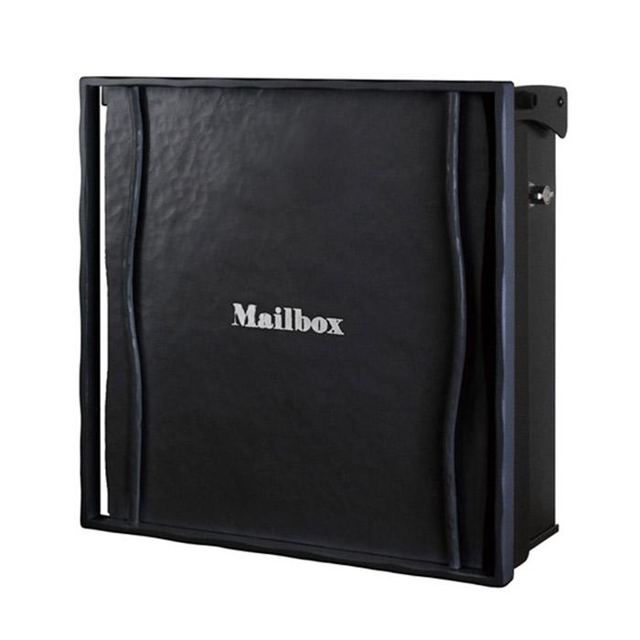 ポスト 郵便受け 壁掛け郵便ポスト デザインポスト ヴァリオ ネオ ライン Type01-1 壁掛けタイプ(T型カムロック付) ブラックマット