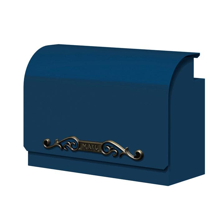 ポスト 郵便受け 壁掛け郵便ポスト デザインポスト デコラ II 鍵無し ロイヤルネイビー