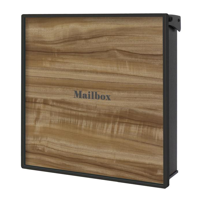ポスト 郵便受け 壁掛け郵便ポスト デザインポスト ヴァリオ ネオ グレイン 壁掛けタイプ(錠無し) クスノキ