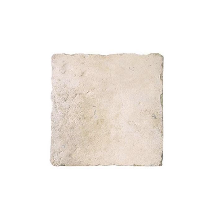 敷石 ステップストーン 飛石 踏み石 屋外床 コンクリート2次製品 イギリス フランス ストーンフレア ジロンデ 平板 W450×D450×H40 ライムストーン色 1枚単位 diy
