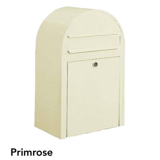 ポスト 郵便受け 壁掛け郵便ポスト デザインポスト ボビ プリムローズ 前入れ前出し 鍵付き スタンド対応可 集合住宅対応