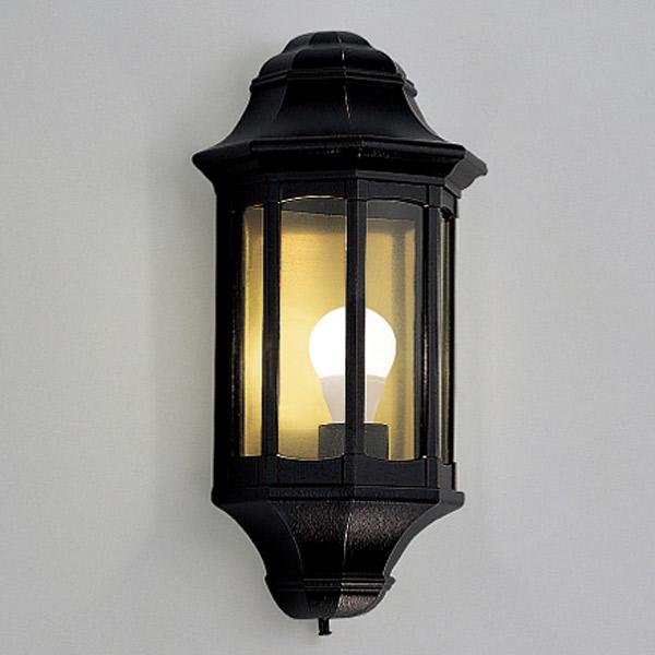 玄関照明 照明 LED 玄関 照明 屋外 門柱灯 門灯 外灯 ポーチライト 門柱灯 門灯 外灯 6413BA アンティーク風 レトロ 照明 ブラケット 照明器具 おしゃれ E26 LED電球 6W