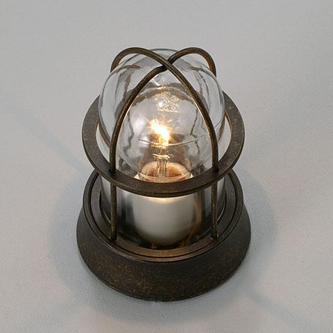 ガーデンライト庭園灯屋外照明マリンライトBH1000ANクリアタイプ門柱灯スタンドライト