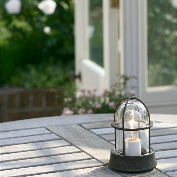 ガーデンライト庭園灯屋外照明マリンライトBH1000ANCLクリアガラス門柱灯門灯外灯玄関照明スタンドライト照明器具おしゃれE26白熱電球40W