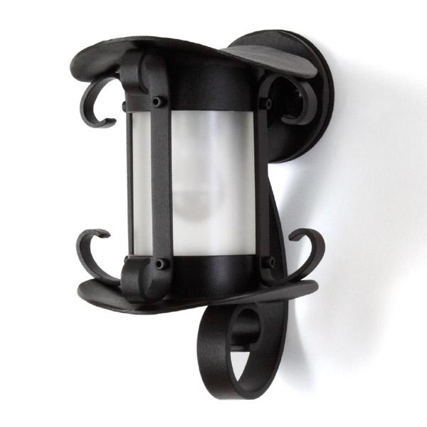 【スーパーSALE⇒50%OFF】 照明 おしゃれ 玄関 LEDブラケットライト トラディショナル Type01-1 ブラックマット 照明器具 屋外 ポーチライト レトロ 電球色 4.3W