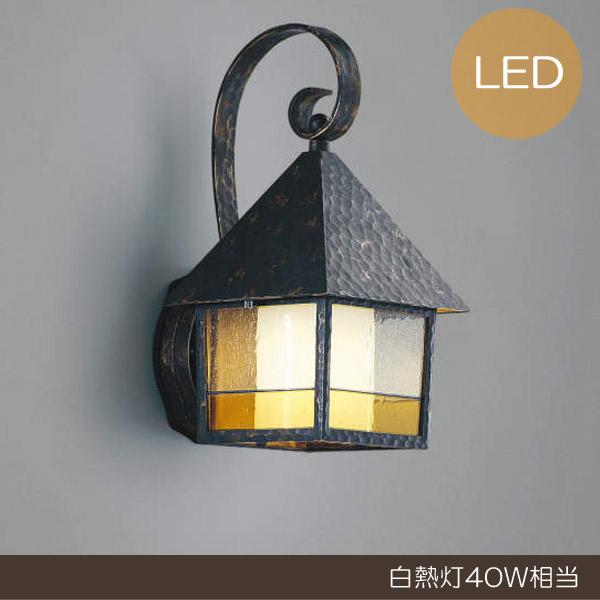 【300円OFFクーポン配布中】 玄関照明 玄関 照明 LED 門柱灯 門灯 外灯 屋外 AU37709L 電球色 白熱灯40W相当